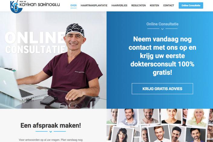 HaarTransplant Turkije Dr. Kayıhan Şahinoğlu