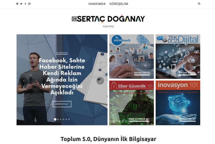 Sertaç Doğanay Kişisel Web Sitesi