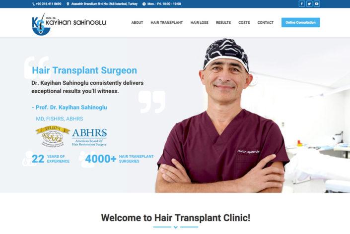 Get New Hair Transplant Dr. Kayıhan Şahinoğlu